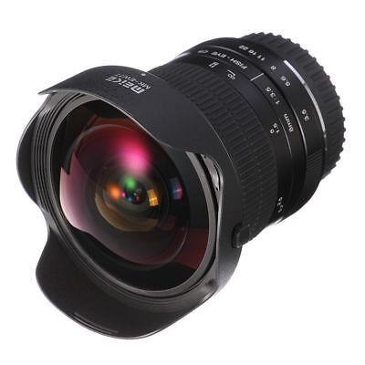 8mm F3.5 Manual Wide Angle Fisheye Photography Lens Fr Canon 7D 6D 5D II III 80D