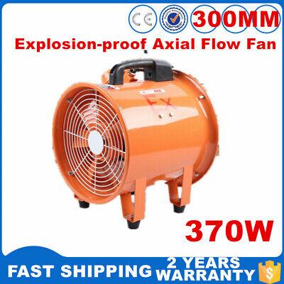 110v 370w Ex Axial Flow Fan Explosion-proof Ventilator Industrial Blower 2800rpm
