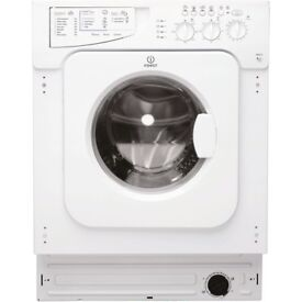 BRAND NEW Indesit IWME127UK Ecotime Integrated Washing Machine, 7kg Load, A+ Rating, 1200rpm Spin