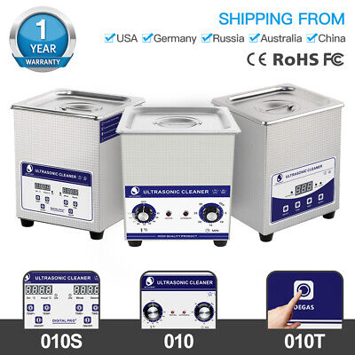 Ultrasonic Cleaner Bath Cleaning Machine For Circuit Board Metal Parts Tool 2l