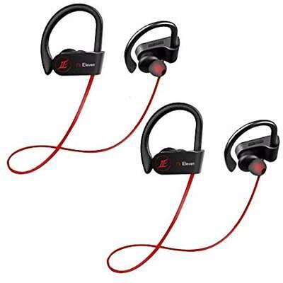 2 Pack Wireless Earphones Waterproof Headphone Best Sports Bluetooth For (Best Waterproof Headphones For Running)
