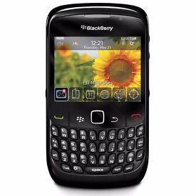 2x blackberrys 8520 curves mint