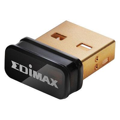 NEW EDIMAX EW-7811UN 150Mbps WiFi WIRELESS Nano USB Adapter