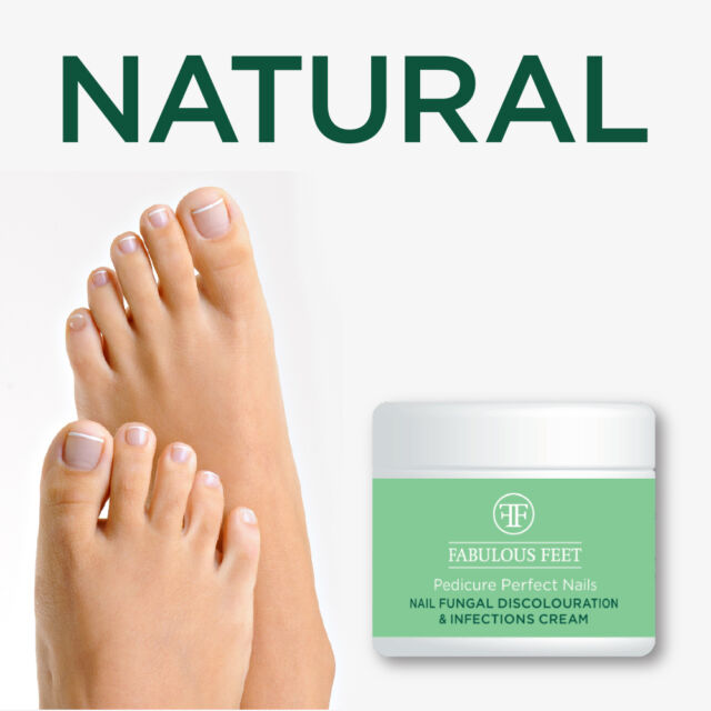 FABULOUS FEET PEDICURE PERFECT NAILS PREVENTS INFECTIONS CREAM - HERBAL