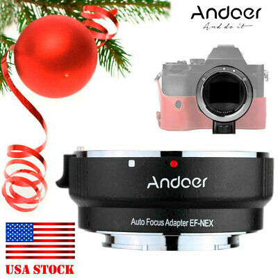 Lens Adapter Ring Mount For Canon EF EFS to SONY E NEX A7 A5000 A6000 Full (Lens Mount Adapter Ring)