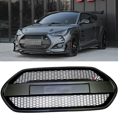 Unpainted Front Bonnet Radiator Grille for HYUNDAI 2013-2017 Veloster Turbo