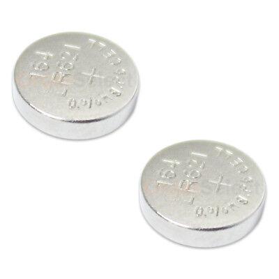 2 PACK NEW Battery Coin Button Watch 1.5V 363 364 SR621W SR621SW LR621 US Seller