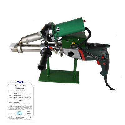 Ac220v Handheld Plastic Extrusion Welder Hot Air Extruder 5001b Metabo Motor