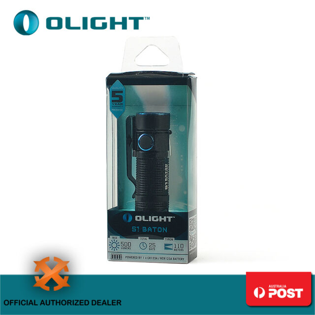 Olight 500 Lum EDC LED Flashlight Hunting Camping Torch Flashlight S1 Baton