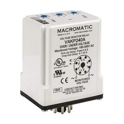 Voltage Sensor Relay12vdc10a240vdpdt Vakp012d
