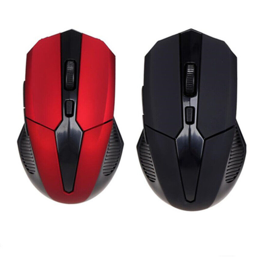 Kabellos Maus Optische USB Wireless Mouse Funkmaus 2.4GHz für PC Laptop Notebook