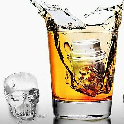 Ice Cube Trays Skull Ice Cube