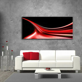 Picture Glass Wall Art Digital Print Size 125x50 cm SALE