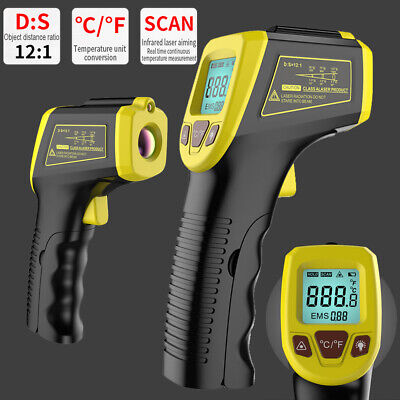 Infrared Thermometer Temperature Tester Gun Non-contact Ir Laser -58 To 1112