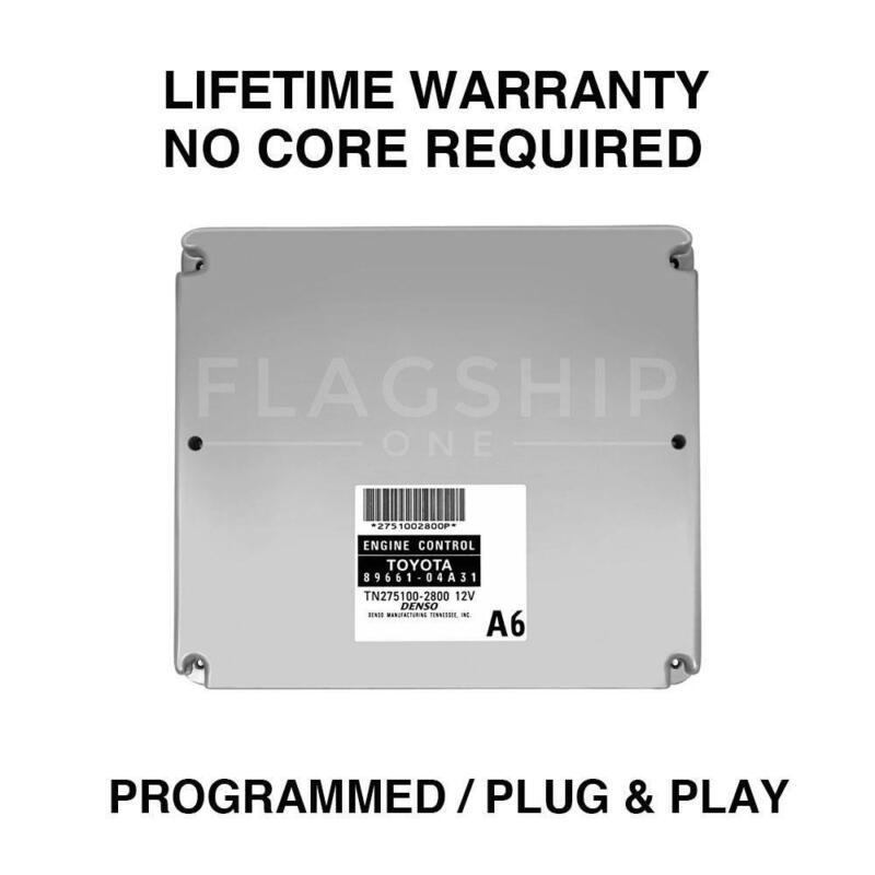 P//N 89661-06A30 2005 Toyota Camry ECU ECM PCM Engine Computer Plug /& Play