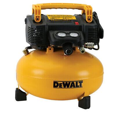 DEWALT 0.9 HP 6 Gallon Oil-Free Pancake Air Compressor DWFP55126R Recon
