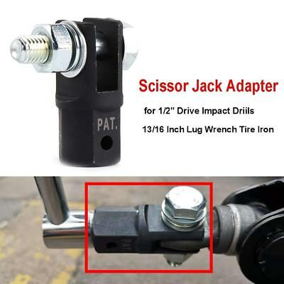 Scissor Jack Adaptor 1/2'' for Use with 1/2 Inch Drive or Impact Wrench Tools