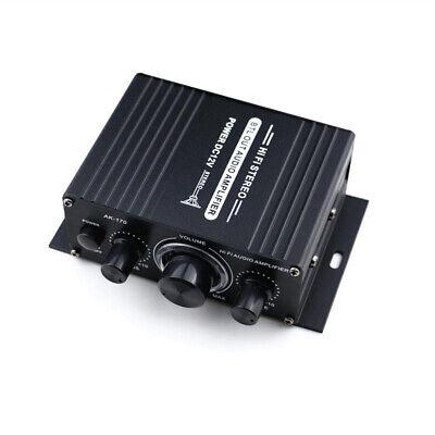 Mini Coche Audio Potencia Amplificador Música MP3 Receptor for Casa Teatro