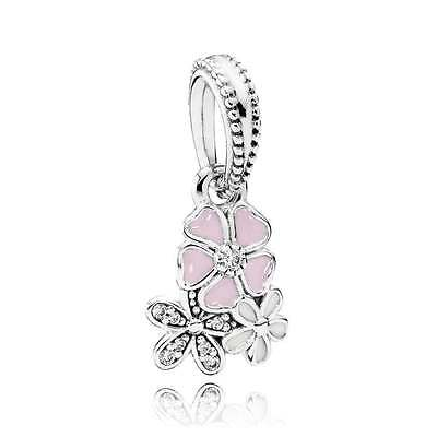 Genuine Pandora  Clearance SALE Poetic Blooms Dangle Charm 791824enmx
