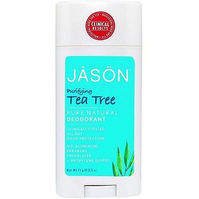 Jason Tea Tree Deodorant - Jason Tea Tree Deodorant Stick 2.5 oz (Pack of 6)