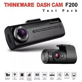 Taxi Minicab Uber Drivers Front & Rear Dashcam, CCTV Car Camera WiFi & Parking Mode £249 fitted