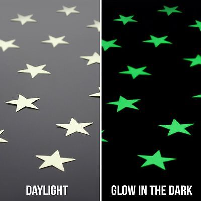 Glow In The Dark Wholesale (wholesale 100Pcs Home Decor Glow In The Dark Star Decal Kids room Wall Stickers)