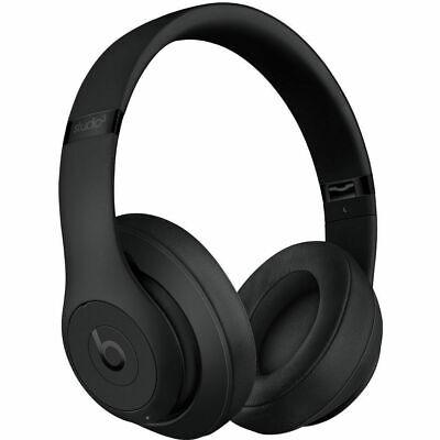 Beats By Dre STUDIO3 WIRELESS MATTE BLACK Bluetooth Over Ear Headphones GRADE A