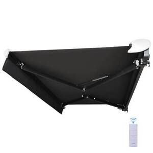 Motorised Semi Cassette Retractable Folding Arm Awning from $1230 Minto Campbelltown Area Preview