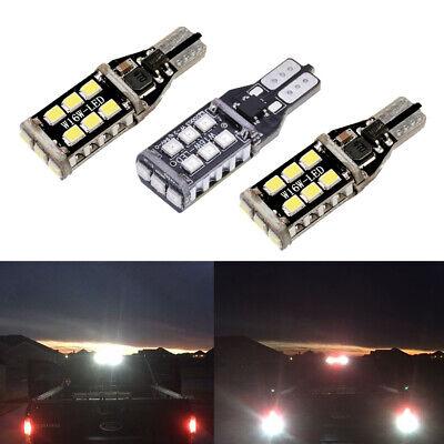 2 White 1 Red 912 921 LED Cargo 3rd Brake Light Bulbs for 1997-2019 F150 F250