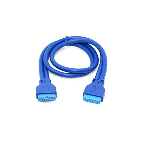 USB 2.0 Motherboard 9pin to USB-C 3.1 Type C 2 Port External Bracket Panel