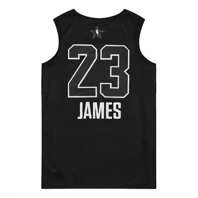 c380c4ee9a1c Nike Air Jordan Men s All Star Swingman Jersey Black Lebron James Cleveland  M