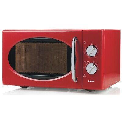 Mikrowelle mit Auftaufunktion 6 Leistungsstufen DO2925 25Liter Volumen  rot