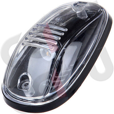 5 Oval Top Led Cab Roof Lights Running Marker CLEAR Lens For Dodge RAM 2500/3500 Clear Cab Roof Lens