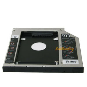 SATA Slim 2nd HDD HD HARD DRIVE 9.5mm Caddy Tray F ACER BENQ ASUS LENOVO HP DELL