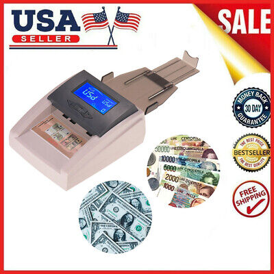 Automatic Money Detector Counterfeit Bill Currency Banknote Checker Tester J0O4
