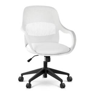 Modern Office Desk Chair  - White North Melbourne Melbourne City Preview