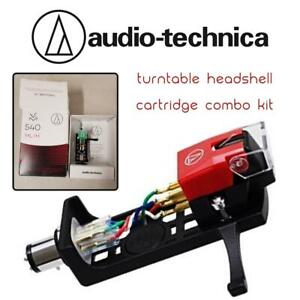 NEW Audio-Technica VM540ML/H Turntable Headshell/Cartridge Combo Kit Condtion: New, VM540ML/H Combo Kit, Unable to test