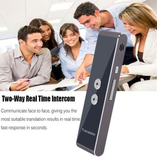 Smart Voice Translator Two-Way Real Time 30+ Multi-Language Translation