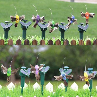Vivid Vibration Solar Powered Dancing Flying Butterflies Birds Garden Yard Decor