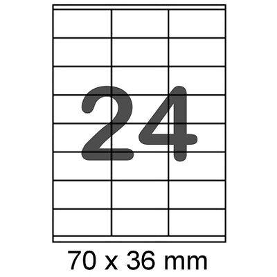 240 Etiketten 70 x 36 mm Internetmarke Frankierung 3490 oder Post Adressetikett