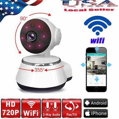 720P WIFI Wireless Pan Tilt Security IP Camera CCTV Night Vision Security Cam](720p wireless ip camera)