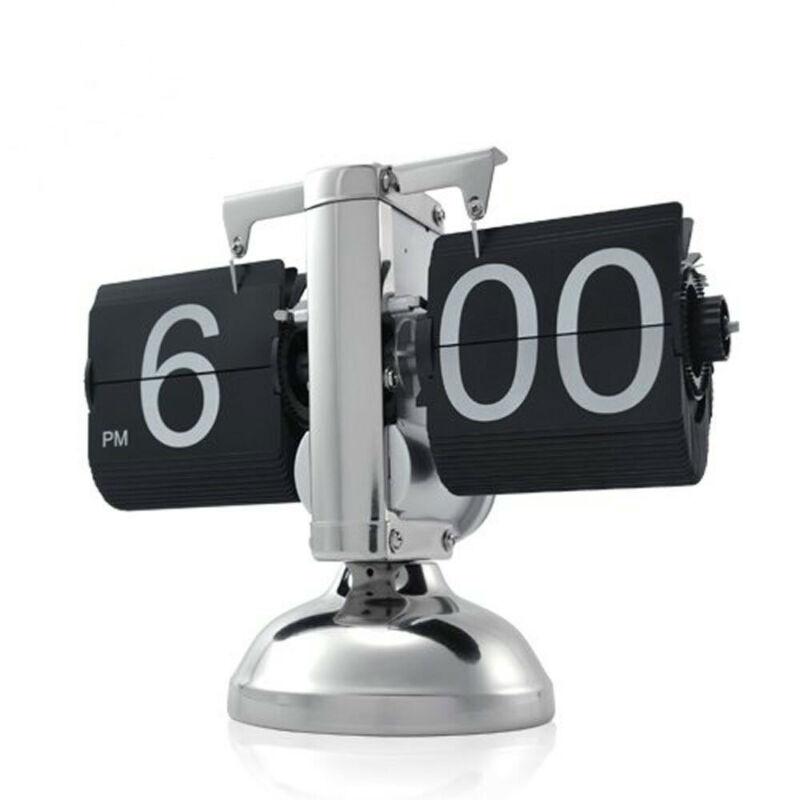 Flip Down Desk Clock Digital Retro for Home Decor