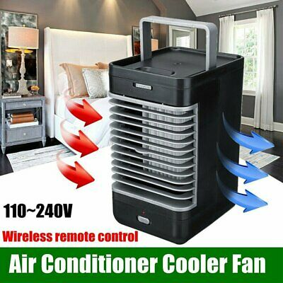Portable Air Conditioner Mini Fan Cooler Cooling Humidifier System Home Office