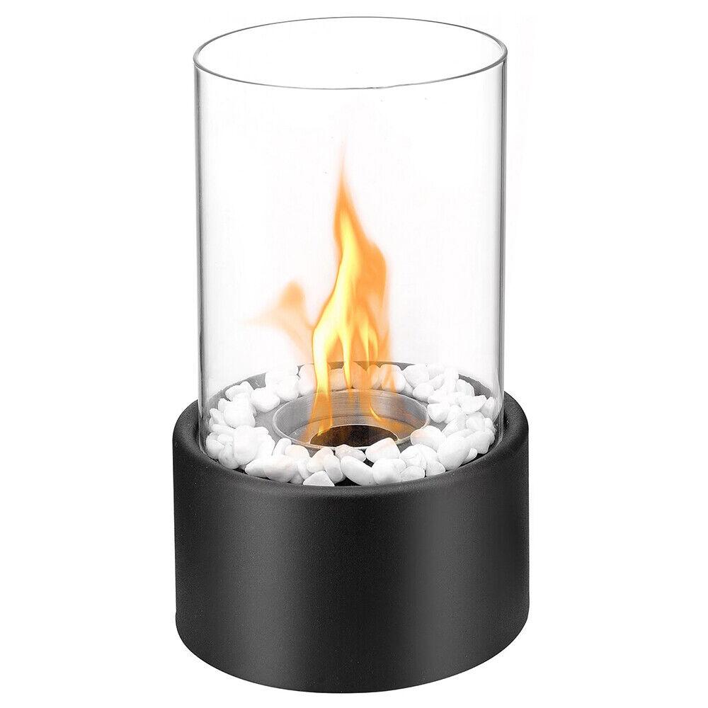 Regal Flame Black Eden Ventless Indoor Outdoor Fire Pit Tabl