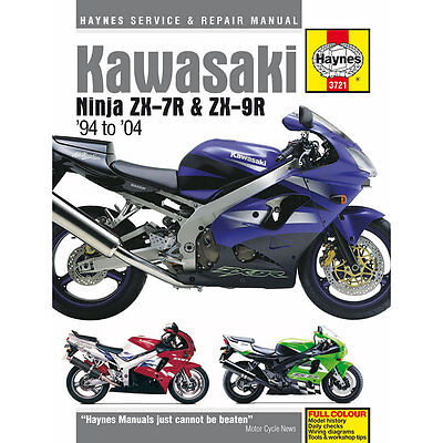 Kawasaki Ninja ZX-7R ZX-9R 1994-2004 Haynes Workshop Manual