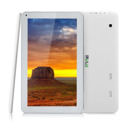 "iRULU eXpro X1 Tablet  10.1"" Android 5.1 Lpllipop Quad Core Bluetooth HD 1G/8G"