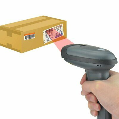 Automatic Laser Barcode Scanner Gun Handheld Laser Pos Bar Code Reader Usb Cable
