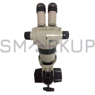 Used Nikon Smz-1 Stereo Microscope Head W Eyepiece Objective Lens No Base
