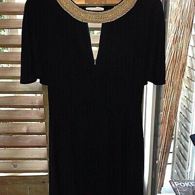 Robe de collection azzaro dress authentique vintage loris rare t42/44 70 paris