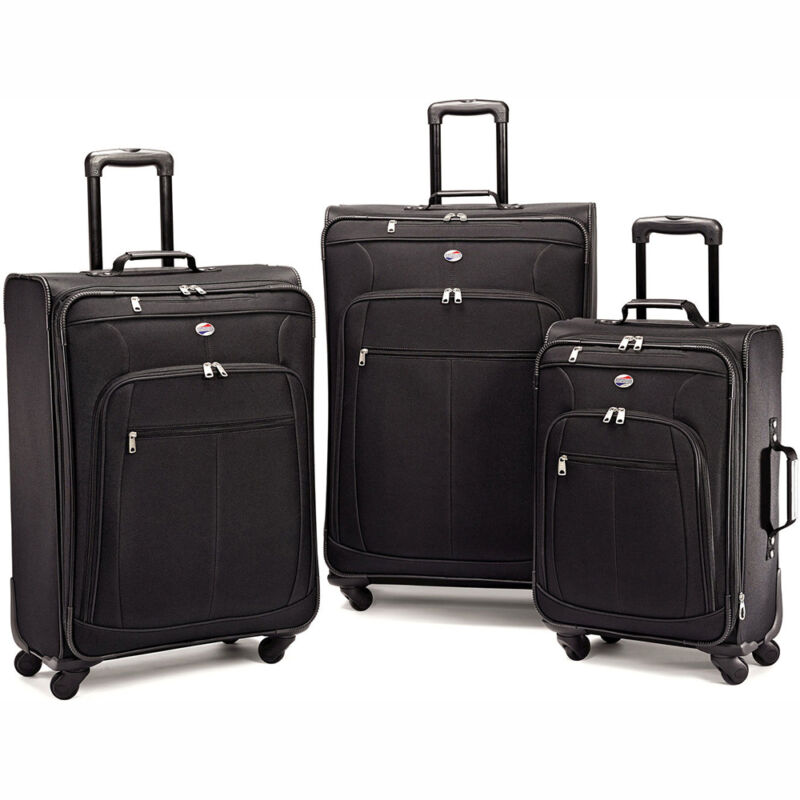 "American Tourister Pop Plus 3 Piece Luggage Set (21"",25"",29"") - Choose Color"